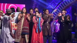 Shazia Khushk sings Ho Jamalo with Saira Peter, Chief Judge (Voice of Sindh:3)
