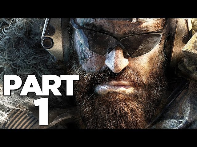 GHOST RECON BREAKPOINT Walkthrough Gameplay Part 1 - INTRO (FULL GAME) thumbnail