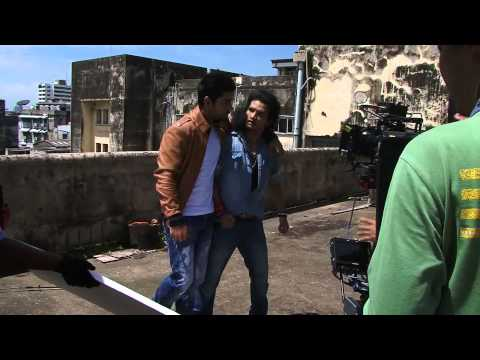 Making Of Red Chief Ad - Prabhudeva Directing Virat Kohli video