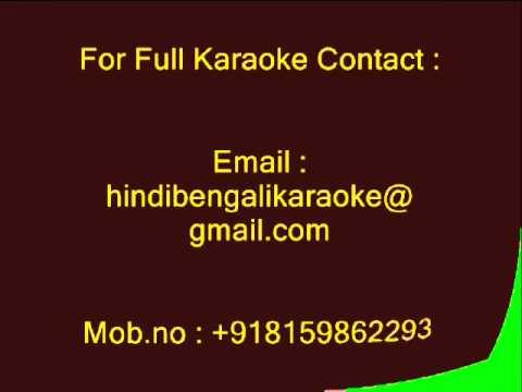 Ang Laga De - Karaoke - Ram Leela (2013) - Aditi Paul, Shail Had