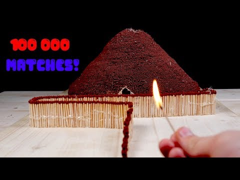 Download Match Chain Reaction Amazing Fire Domino VOLCANO ERUPTION Mp4 baru