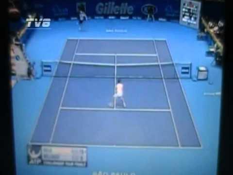 ATP Finals 2011 - Challenger - Bellucci vs Dudi Sela - 3/6