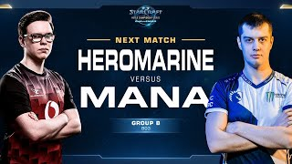 MaNa vs HeroMarine PvT - Group B - WCS Challenger EU Season 2