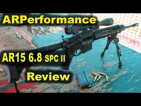 ARPerformance AR15 6.8SPCII Review