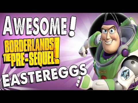 Borderlands Pre-Sequel: 8 Awesome Easter Eggs! (Buzz Lightyear, Titanic, Princess Leia, and More)