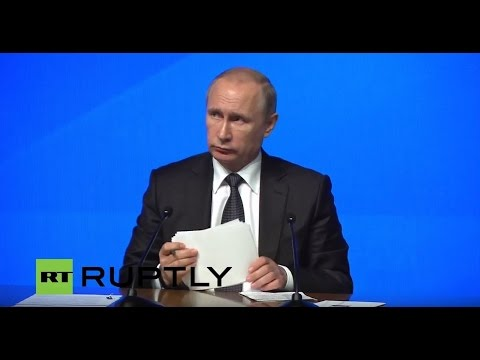 LIVE: Putin to participate in third Forum of Regions of Russia and Belarus