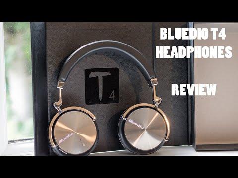 Bluedio T4 (Turbine 4) - Bluetooth Headphones - Noise Cancelling - Review