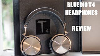Bluedio T4 (Turbine 4) - Bluetooth Headphones - Noise Cancelling - Review