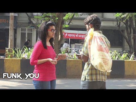Beggar with iPhone Prank by Funk You (Pranks in India) (English Subtitles)