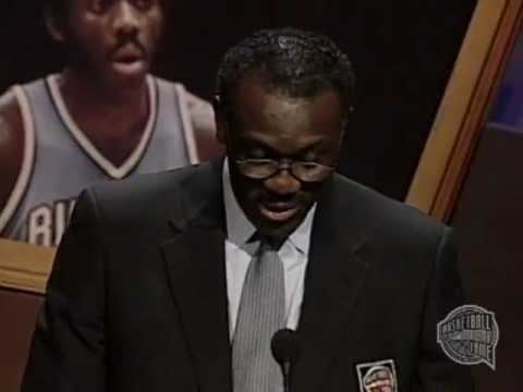 Robert A. McAdoo's Basketball Hall of Fame Enshrinement Speech