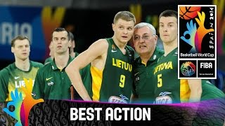 Mexico v Lithuania - Best Action - 2014 FIBA Basketball World Cup