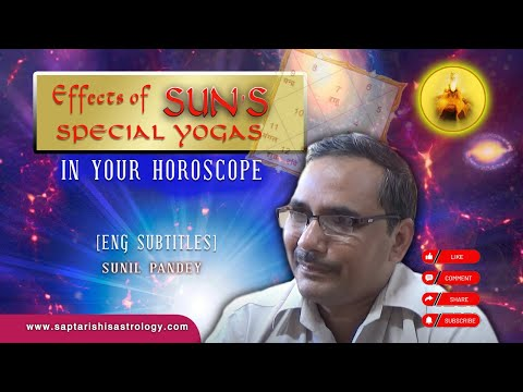 Effects of Sun's Special Yogas In Your Horoscope [English Subtitles]