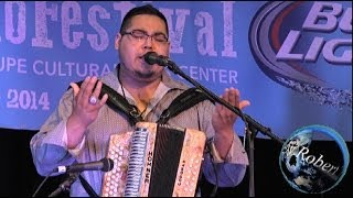 Lazaro Perez y su Conjunto at the Tejano Conjunto Festival 2014 Video 2