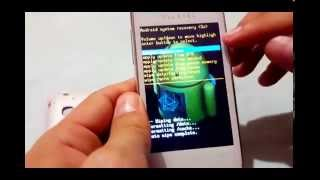 Alcatel POP one touch 4030A -  Hard Reset -  wipe