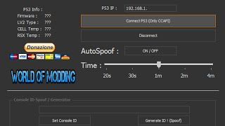 [PS3] [1.0.0.1] NEW UPDATE Console ID Spoofer | By NikoMoDz