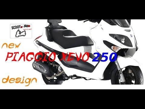 PIAGGIO XEVO 250 - 2 NEW COLOURS, SPORT FACELIFT