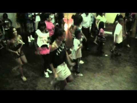 Chuck Baby Line Dance at Sweet 16 Birthday Party