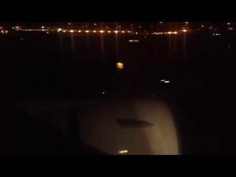 (60 FPS) Hawaiian Airlines 767 - Night Landing at Sacramento Int'l Airport