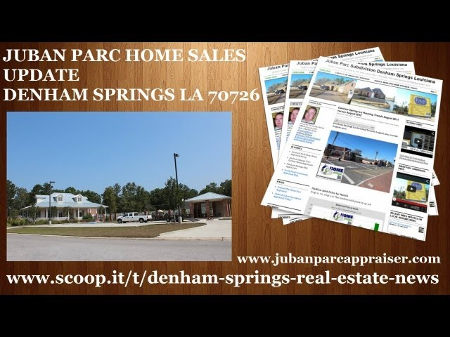 Juban Parc Subd Home Sales Denham Springs Home Prices