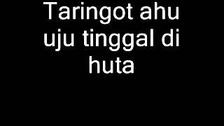 Tongam Sirait - Taringot Ahu