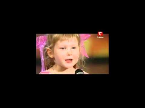 Украина мае таланты Девочка Диана рассказывает стих