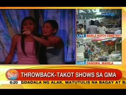 UB: Throwback-takot shows sa GMA