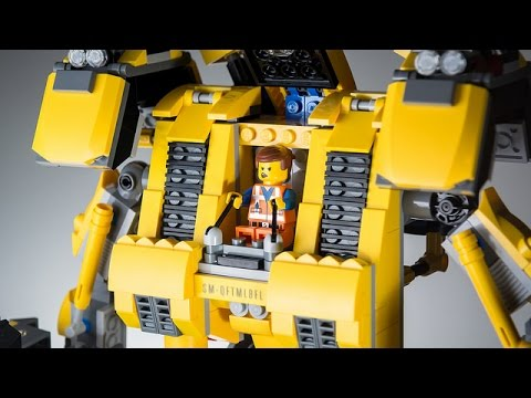 Unboxing an Awesome Lego Mech from Lego The Movie