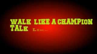 Selena Gomez   Like a Champion (Lyric Video)