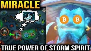 Miracle- Storm Spirit - His Game Sense is Beyond Godlike Dota 2