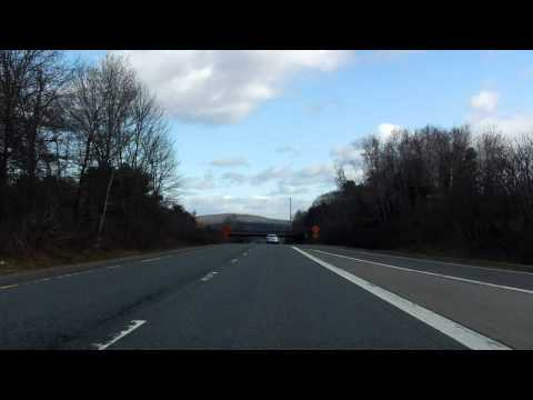 Interstate 91 - Massachusetts (Exits 22 to 26) northbound