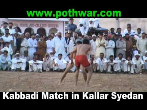 Kabbadi Match in Kallar Syedan 11 June 2012