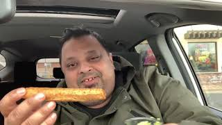 Eating Taco Bell Rolled Chicken Tacos | Eating Show