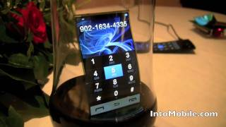 Samsung Flexible AMOLED Display at CES 2011