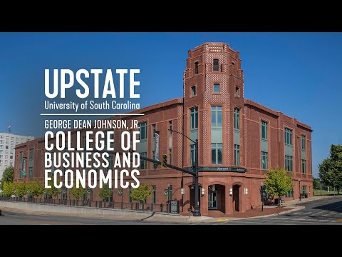 Welcome to the George Dean Johnson Jr. College of Business & Economics at USC Upstate