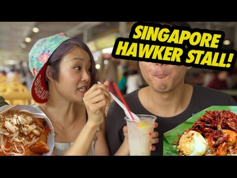 FUNG BROS FOOD: The Hawker Stall! (Singapore)