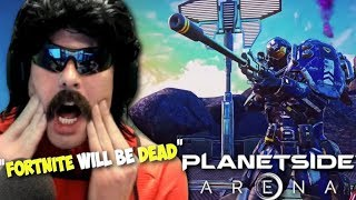 DrDisRespect Reacts to *Fortnite Killer* 1000 Players Battle Royale Game + Upcoming Games 2019