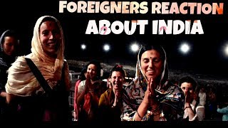 Foreigners Reactions About Indian Culture | Respect For Indian Culture | Rishikesh Ride