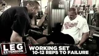 Dorian Yates: Blood & Guts Trainer - Legs - Episode 5 / 5,  Part 1