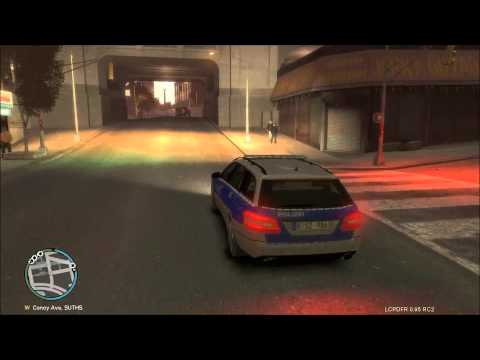 [Gameplay] GTA IV : LCPD First Response Mod #04 [Deutsch] German Police HD