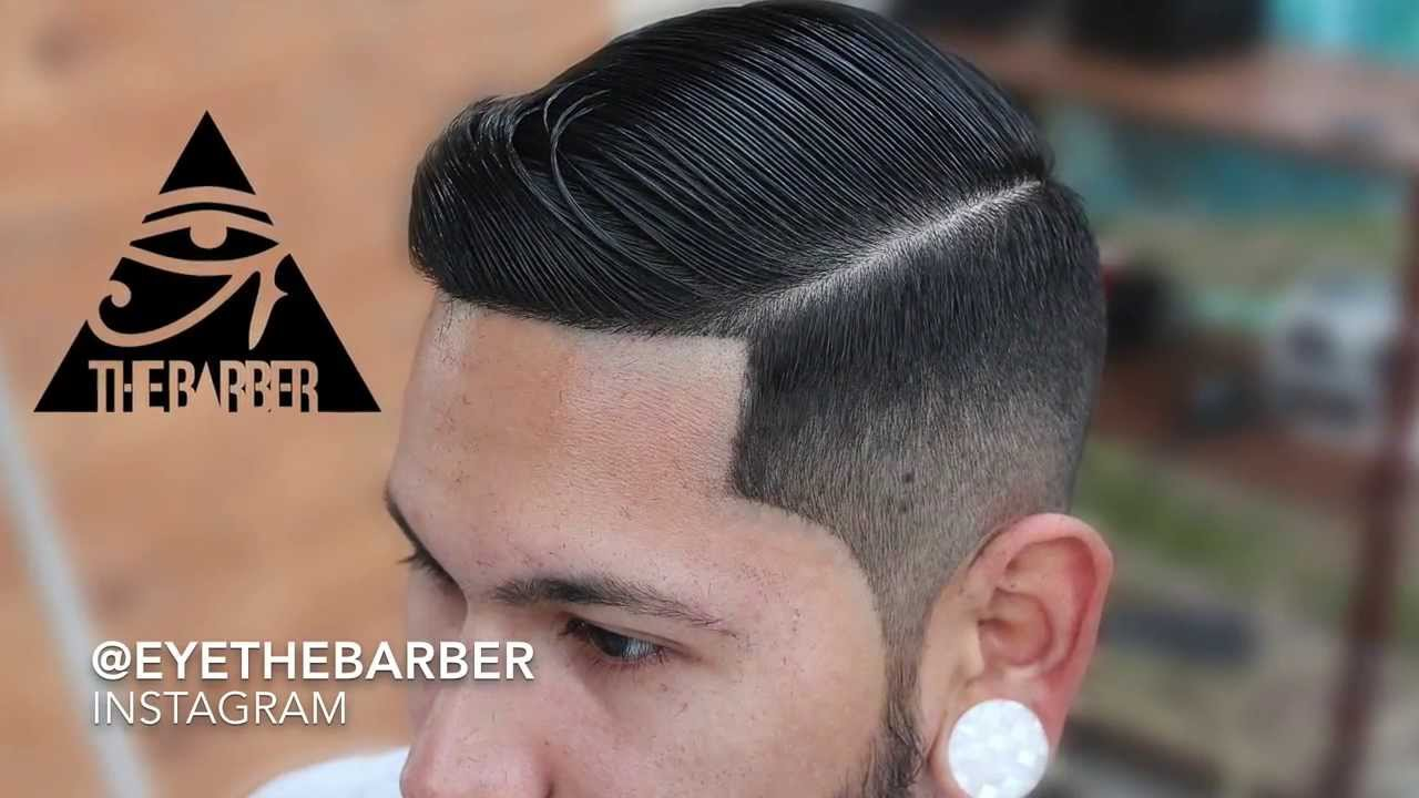 competition hairstyles : SidePart CombOver - YouTube
