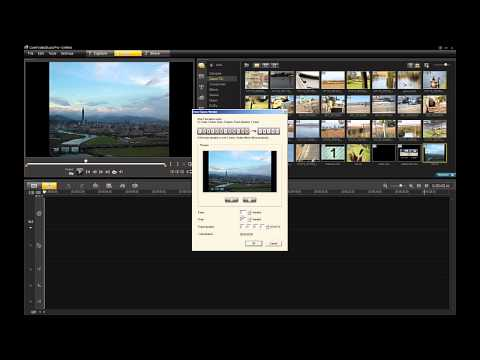 Corel VideoStudio Pro X4: Time-Lapse photography