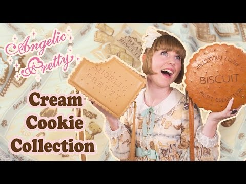 Angelic Pretty Cream Cookie Collection [lolita Unboxing] video