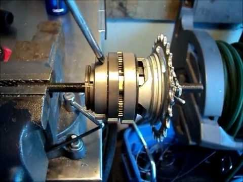 Sturmey Archer 8 speed hub. How it works