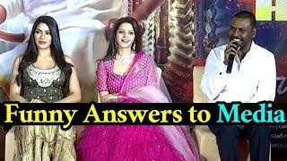 Kanchana3 Movie Team Interacting With Media | Kanchana3 | Lawrence | Vedika