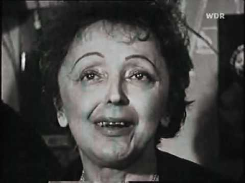 Edith Piaf  interview - 1962