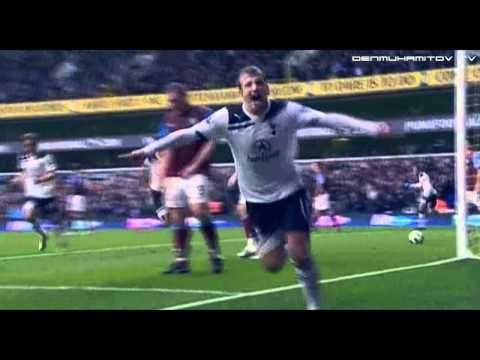 Rafael Van Der Vaart 10/11 All goals in English Premier League | by Ramil Denmuhamitov