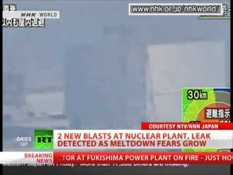 FOURTH BLAST shocked Japan Nuclear Powerplant in Fukushima