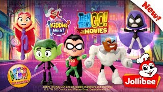 2018 Jollibee Teen Titans Go! To The Movies - Jolly Kiddie Meal Complete Set of 5 Toys