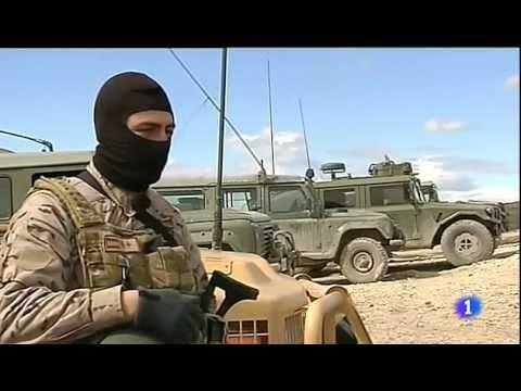 Entrenamiento de los grupos de operaciones especiales
