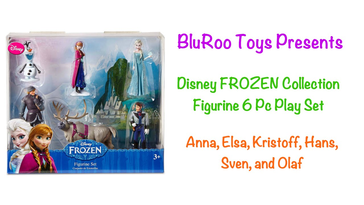 [Disney Collection Frozen Figurine Play Set] Video